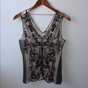 Beaded/ Embroidered Tank